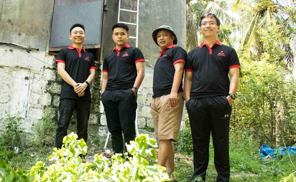 đội ngũ cơ sở yến sào Ngọc Thảo